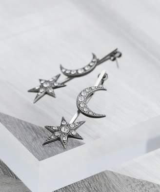 【公式/ナノ・ユニバース】MOON&STAR solid piece【ADER.bijoux】