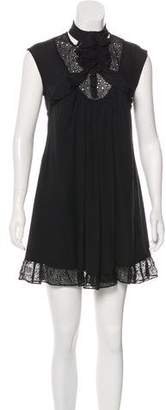 Mayle Silk Mini Dress