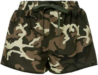 The Upside camouflage-print shorts