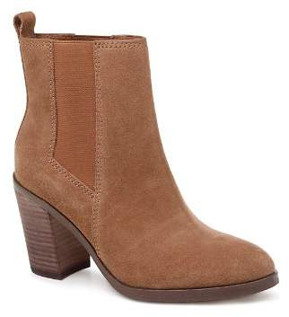 Splendid Women's Newbury Almond Toe Suede Mid-Heel Booties