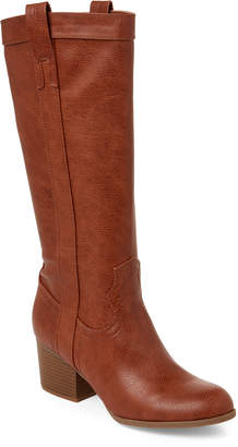 Steve Madden Cognac October Riding Boots