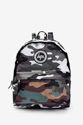Hype Boys Double Camo Backpack - Green