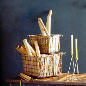 Roost Lined Factory Baskets