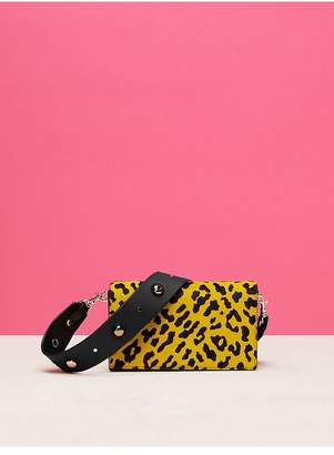 Diane von Furstenberg Soiree Crossbody Haircalf Bag