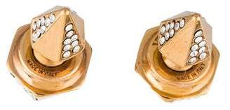 Vita Fede Double Titan Thea Crystal Earrings