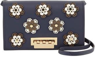 Zac Posen Earthette Hex Flower Crossbody Bag
