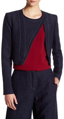 BCBGMAXAZRIA Long Sleeve Derek Jacket $228 thestylecure.com