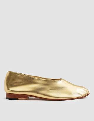 Martiniano Glove Shoe in Gold