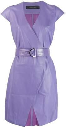 FEDERICA TOSI belted waist dress
