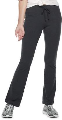 So Juniors' SO Tie-Waist Skinny Bootcut Yoga Pants