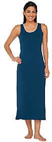 LOGO by Lori Goldstein LOGO Luna by Lori Goldstein Sleeveless LaceTrim Long Gown