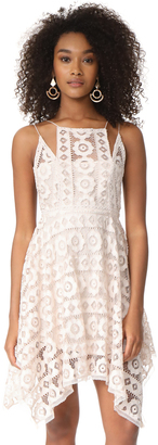 Free People Just Like Honey Lace Dress $128 thestylecure.com