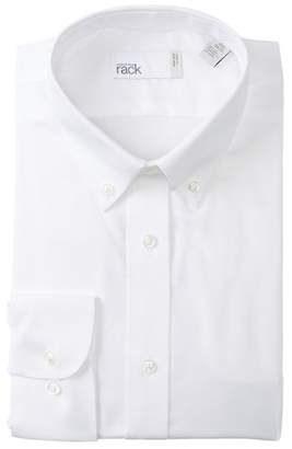 Nordstrom Rack Non-Iron Trim Fit Dress Shirt