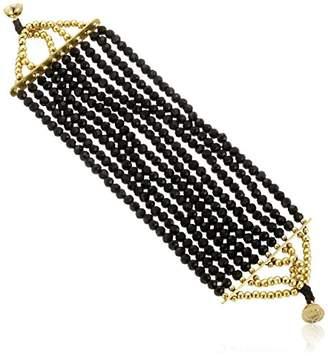 Panacea Solid Mag Closure Strand Bracelet