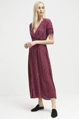 French Connection Aubine Fluid Floral Maxi Dress