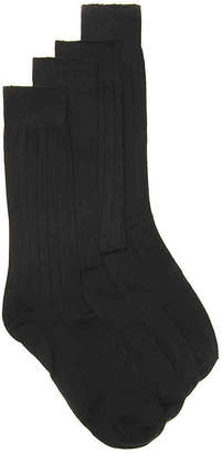 Dockers Wide Rib Dress Socks - 4 Pack - Men's