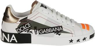 Love Print Sneakers