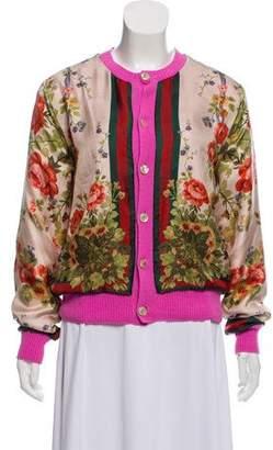 Gucci 2016 Wool & Cashmere Cardigan