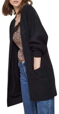 Miss Selfridge Open Front Knit Cardigan