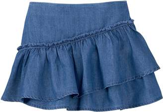 Crazy 8 Crazy8 Ruffle Chambray Skirt