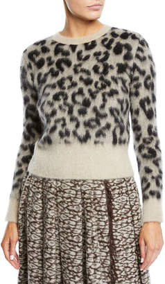 Max Mara Leopard-Print Alpaca-Wool Teddy Coat and Matching Items