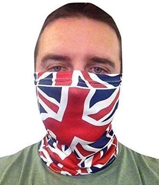 Neck Warmer Scooter Face Mask Scarf Union Jack Design Made In Yorkshire