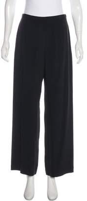 Giorgio Armani Silk-Blend High-Rise Culottes