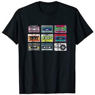 Vintage Retro Music Cassette Tapes Mixtape T-Shirt