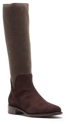 Aquatalia Nicolette Knee High Weatherproof Suede Boot