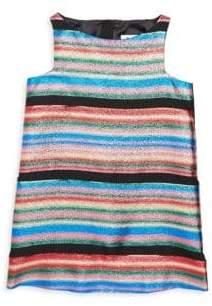 Milly Minis Toddler's, Little Girl's& Girl's Angular Shift Dress