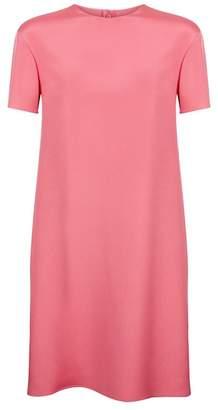 Valentino Colour-Block Panel Silk Dress