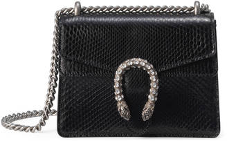 Dionysus python mini shoulder bag $1,550 thestylecure.com