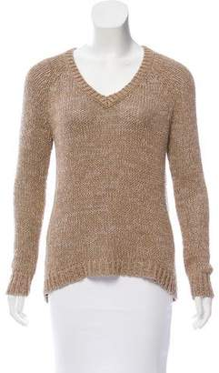 360 Cashmere Knit V-Neckline Sweater