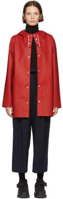 Stutterheim Red Stockholm Raincoat