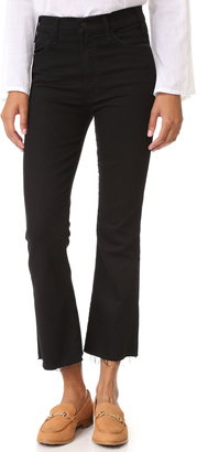 MOTHER The Hustler Ankle Fray Jeans $198 thestylecure.com