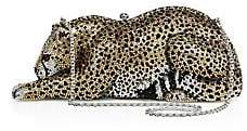 Judith Leiber Couture Couture Women's Wildcat Crystal Box Bag
