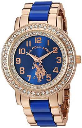 U.S. Polo Assn. Women's Quartz Stainless Steel and Ceramic Watch