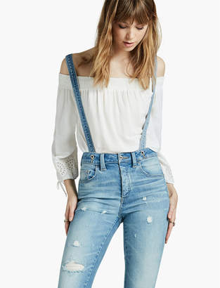 Lucky Brand Surplus High Rise Tomboy Overall
