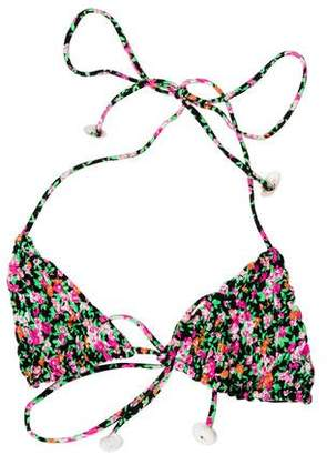 Tori Praver Floral Swimsuit Top w/ Tags