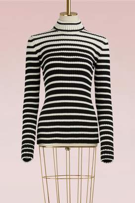MSGM Striped Wool Sweater