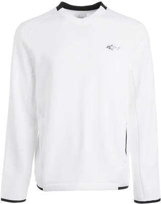 Greg Norman Attack Life by Men Herringbone Double Zip Sweater
