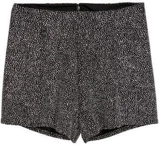 H&M Glittery Shorts - Black