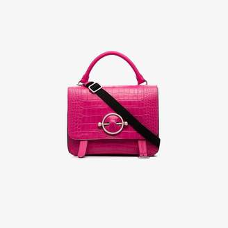 J.W.Anderson Hibiscus Large Disc Satchel