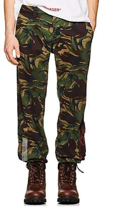 Off-White Men's Camouflage Cotton Work Pants