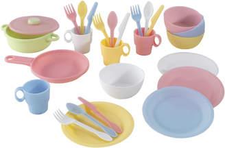 Kid Kraft 27 Piece Pastel Cookware Play Set