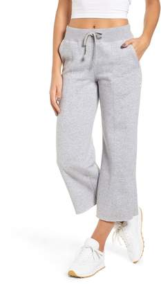 RVCA Stake It Wide Leg Crop Sweatpants