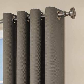 At Amazon Eclipse Curtains 12972052084SMK Dane 52 Inch By 84 Grommet Blackout Single Window