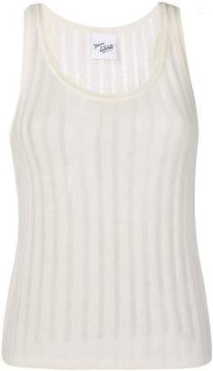 Michel Klein sleeveless knit top