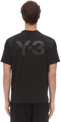 Y-3 Y 3 Classic Cotton Jersey T-shirt