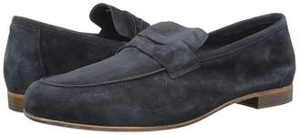 Matteo Massimo Suede Penny Loafer Men's Slip on Shoes